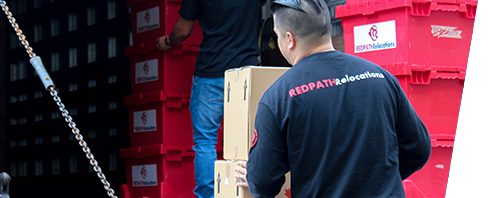 Redpath Moving Packing