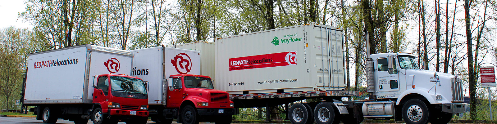 Redpath Moving Trucks